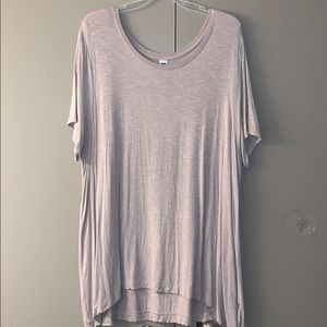 Old Navy luxe tunic tee
